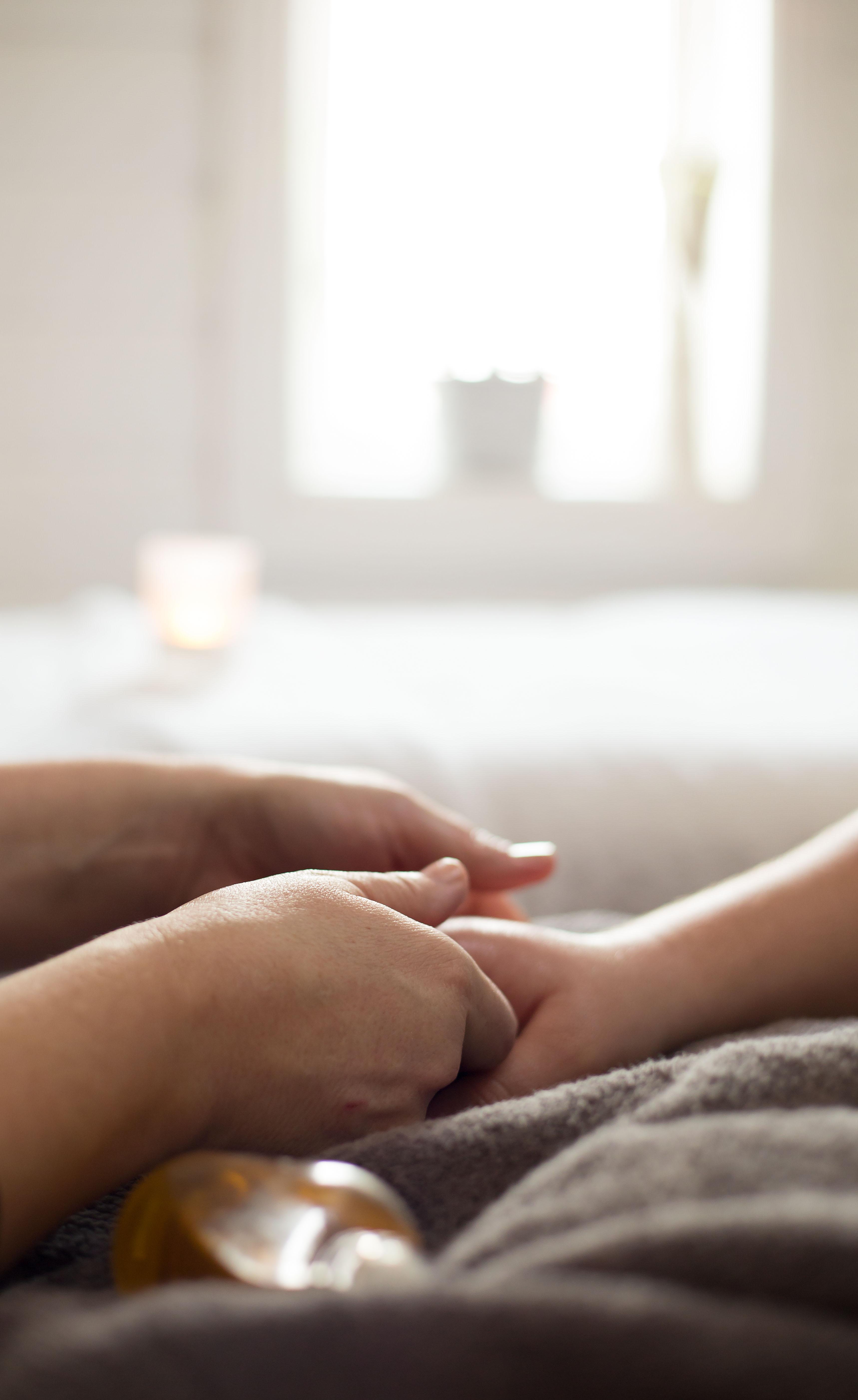 utanför massage små